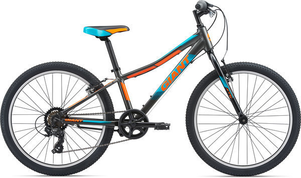 Giant XTC Jr 24 Lite Color: Charcoal/Orange