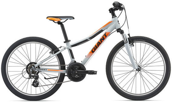 Giant XtC Jr 1 24 Color: Silver/Neon Orange/Black