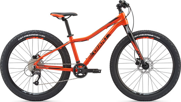 Giant XTC Jr 26+ Color: Orange/Black/Charcoal