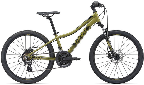 Giant XtC Jr Disc 24 Color: Olive Green