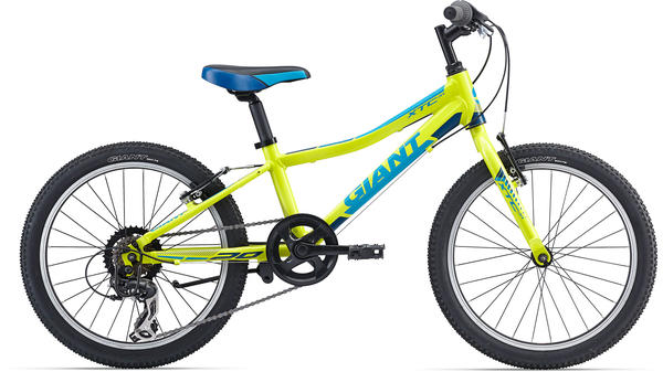 Giant XTC Jr. 20 Lite Color: Yellow/Blue