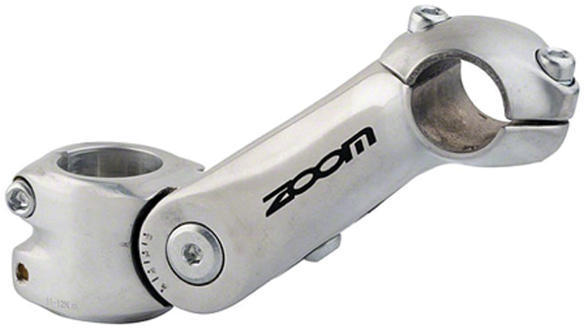 Giant Zoom Adjustable Angle 1-1/8-inch Stem Color: Silver