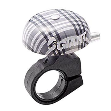 Giant Cruiser Bell Color: Plaid Black