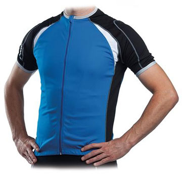 Giant Performance Short Sleeve Jersey Color: Blue/Black