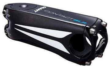 Giant Contact SLR OD2 Carbon Stem (+/- 8-degree) Color: Carbon/White