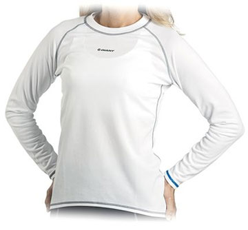 Giant Women's Performance Long Sleeve Baselayer Color: White