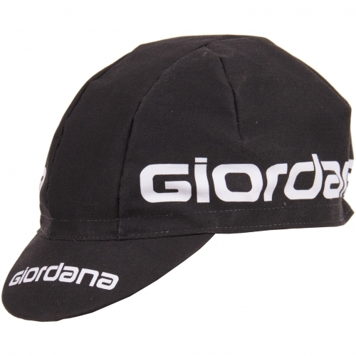 Giordana 3-Panel Cotton Cap Color: Black