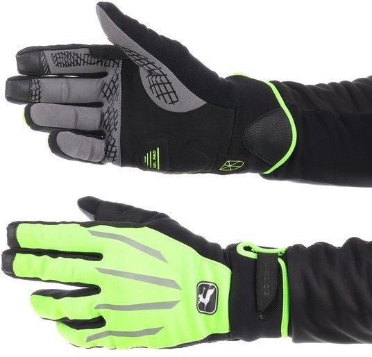 Giordana AV 100 Winter Glove Color: Fluo Yellow/Black