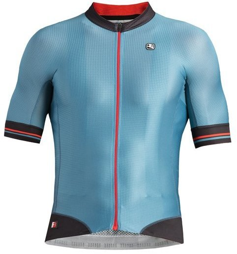 Giordana FR-C Pro Short Sleeve Jersey Color: Aqua - Blue/Black