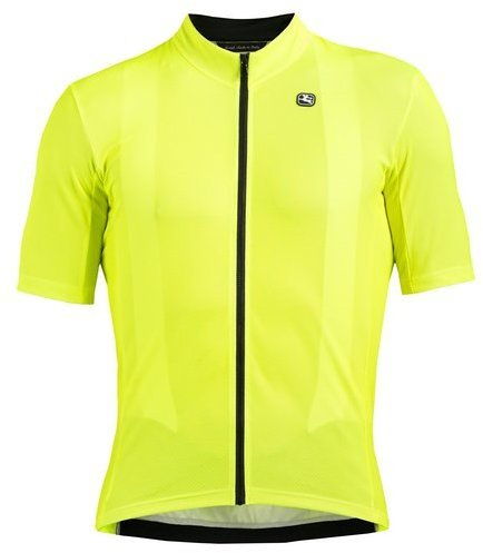 Giordana Fusion Short Sleeve Jersey Color: Fluo Yellow