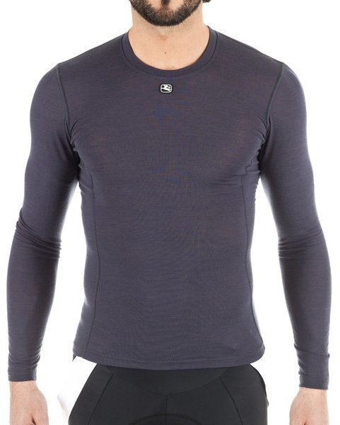 Giordana Long Sleeve Merino Wool Blend Base Layer