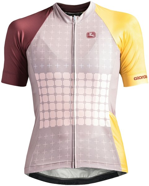 Giordana Moda Tenax Pro Short Sleeve Jersey - Women's Color: Cafe - Beige