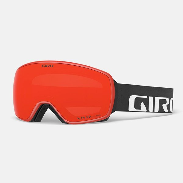 Giro Agent Color | Lens: Black Wordmark | Vivid Ember|Vivid Infrared