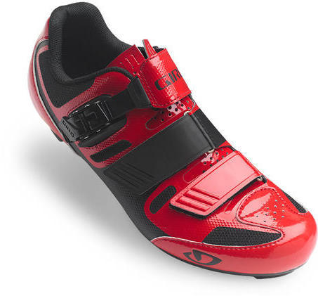 Giro Apeckx II Color: Bright Red/Black
