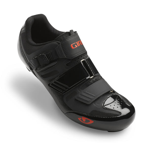 Giro Apeckx II HV Color: Black/Bright Red