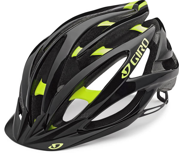 Giro Fathom Color: Black/Highlight Yellow