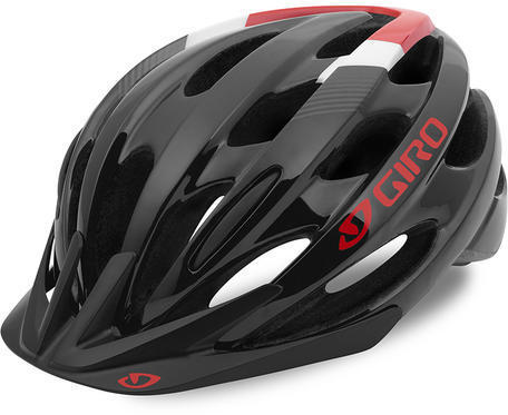 Giro Bishop Color: Black/Bright Red