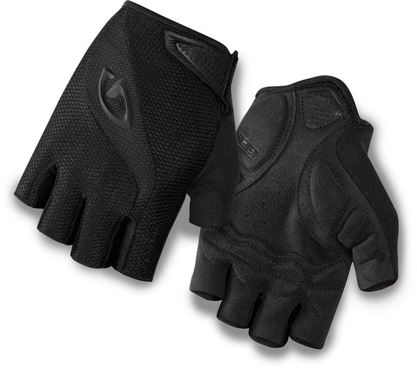 Giro Bravo Gel Gloves Color: Mono Black