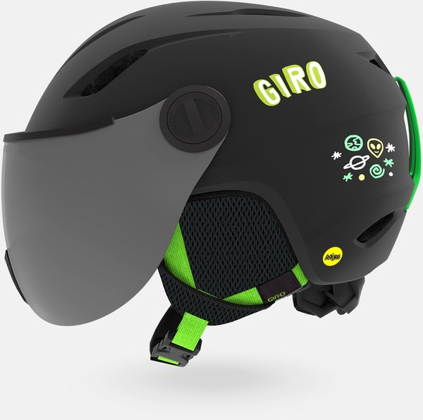 Giro Buzz MIPS Color: Matte Black/Bright Green Alien