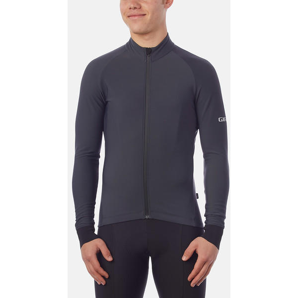 Giro Chrono LS Thermal Jersey Color: Charcoal