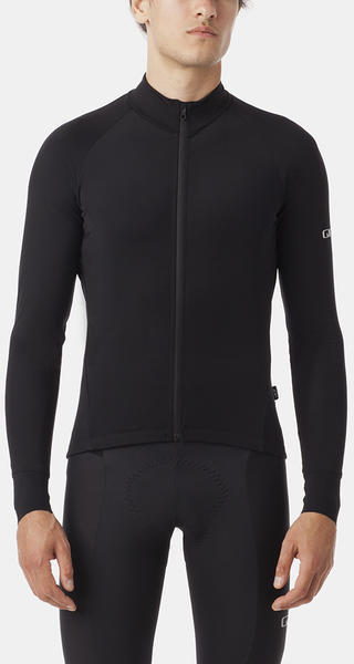 Giro Chrono Pro LS Thermal Jersey Color: Black
