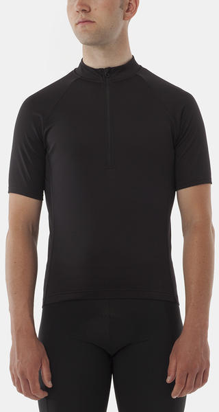 Giro Chrono Sport 1/2 Zip Jersey Color: Black