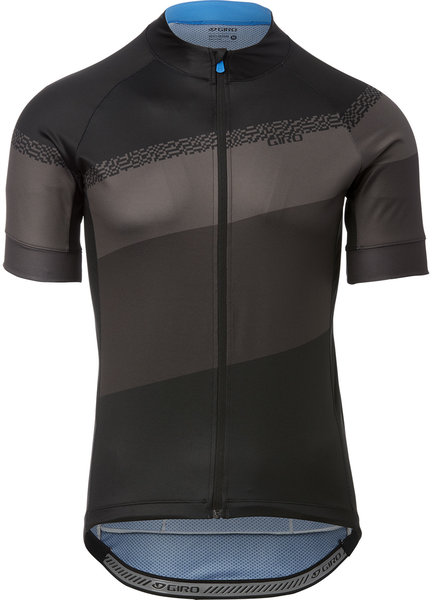 Giro Chrono Sport Jersey Color: Black/Charcoal Terrace