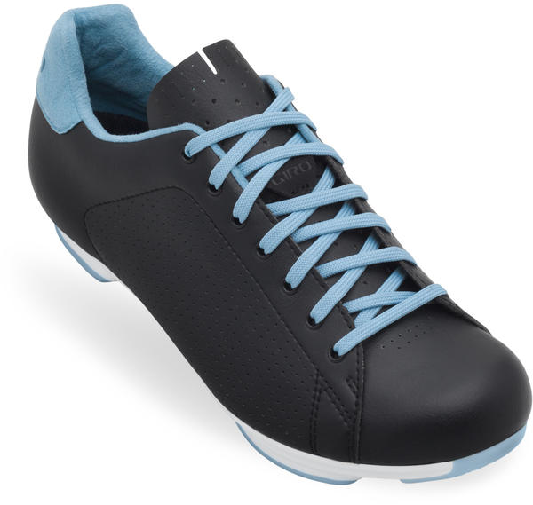 Giro Civila Shoes Color: Black/White/Milky Blue