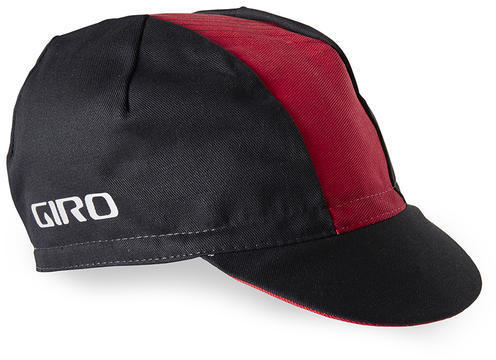 Giro Classic Cotton Cap Color: Black/Red