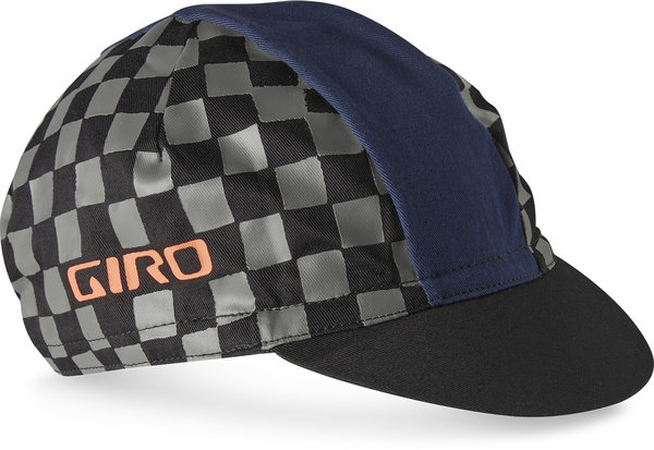 Giro Classic Cotton Cap Color: Checkered Peach/Midnight