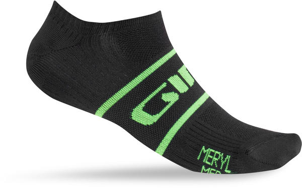 Giro Classic Racer Low Socks Color: Black/Highlight Yellow
