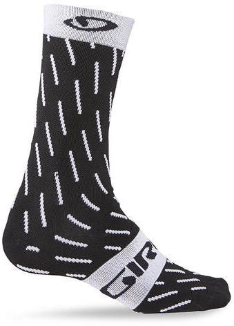 Giro Comp Racer High Rise Color: Black/White Echelon