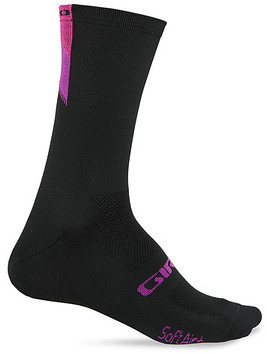 Giro Comp Racer High Rise Color: Black/Bright Pink