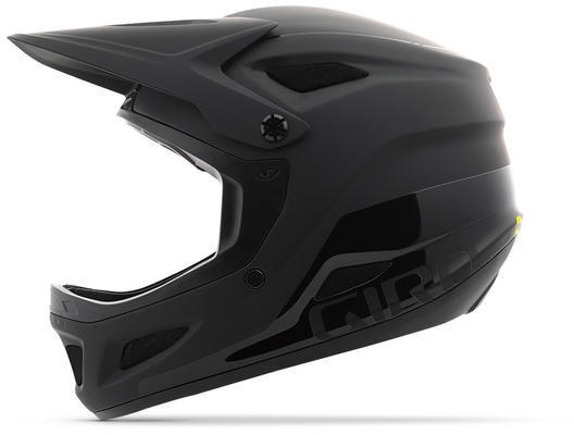 Giro Disciple MIPS Color: Matte Black/Gloss Black