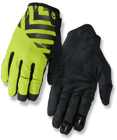 Giro DND Gloves Color: Black/Lime
