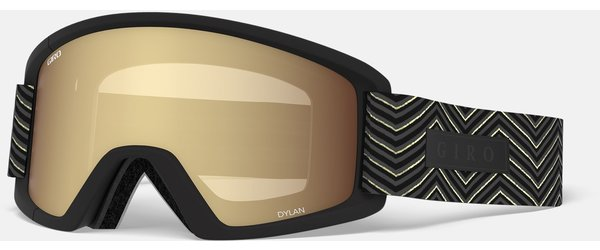 Giro Dylan Color | Lens: Black Zag | Amber Gold|Yellow