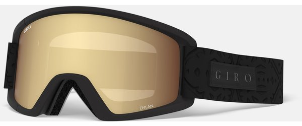 Giro Dylan Goggle Color | Lens: Black Flake | Amber Gold|Yellow