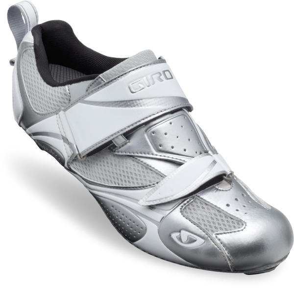 Giro Facet Tri Shoes - Women's Color: Chrome/White