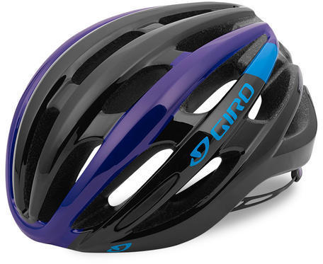 Giro Foray Color: Black/Blue/Purple
