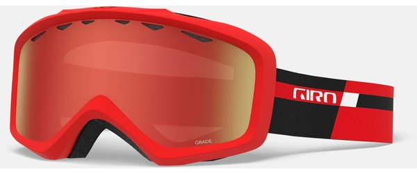Giro Grade Goggle Color | Lens: Black Red Podium | Amber Scarlet