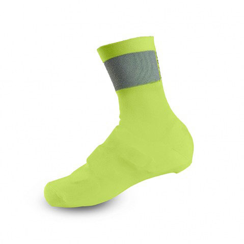 Giro Knit Shoe Covers Color: Highlight Yellow