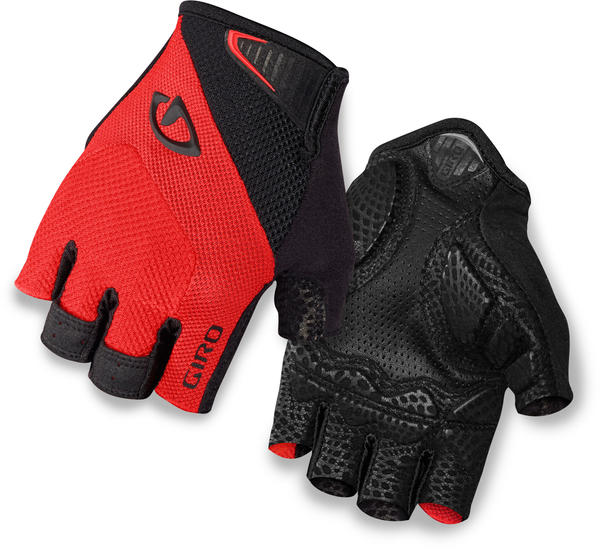 Giro Monaco Color: Red/Black