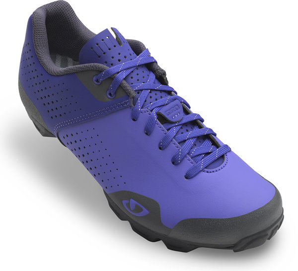 Giro Manta Lace Shoe Color: Blue Iris/Dark Shadow