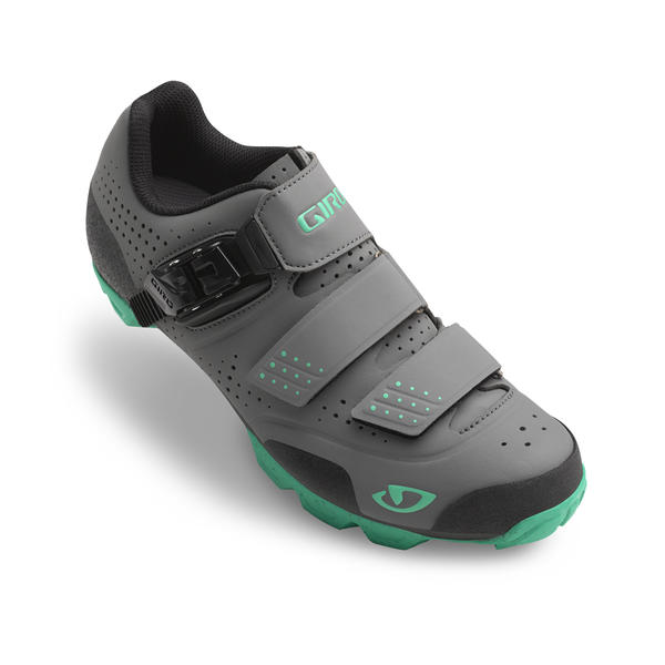 Giro Manta R - Women's Color: Charcoal/Turquoise