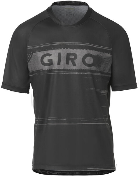 Giro Men's Roust Jersey Color: Black/Charcoal Hypnotic