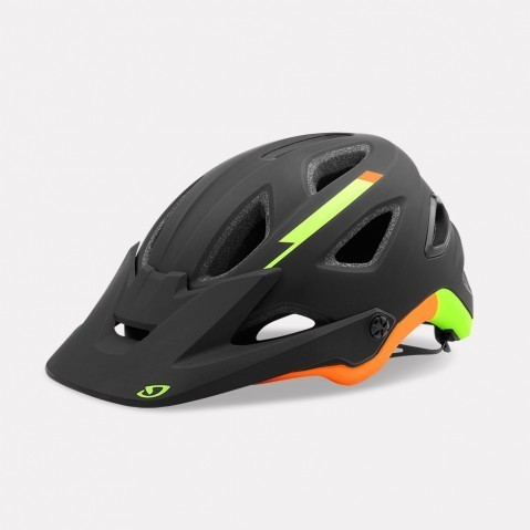 Giro Montaro MIPS Color: Matte Black/Lime/Flame