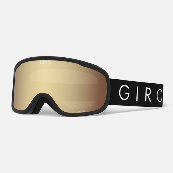 Giro Moxie Goggle Color | Lens: Black Core Light | Amber Gold|Yellow