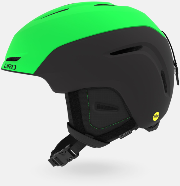 Giro Neo MIPS Helmet Color: Matte Bright Green/Black