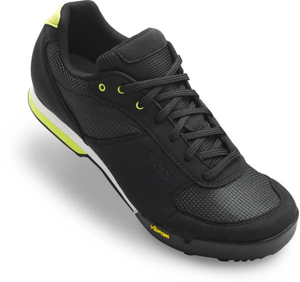 Giro Petra VR Shoes - Women's Color: Black/Wild Lime