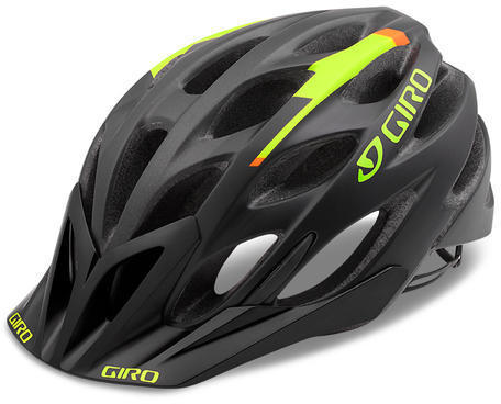 Giro Phase Color: Matte Black/Lime/Flame